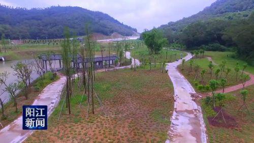 阳江森林公园10月1日前开放使用