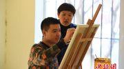孤独症少年励志人生:用画笔描绘多彩生活
