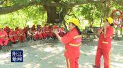 40名环卫工人首次应邀参加公益活动