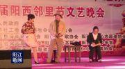 阳西县举办邻里节文艺晚会