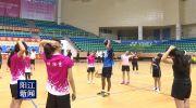 马来西亚羽毛球员到阳江推广交流